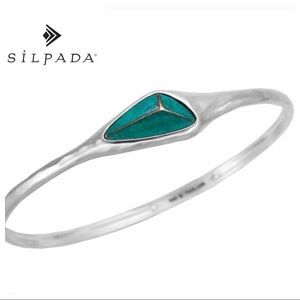 Silpada Encore Sterling Silver Bangle